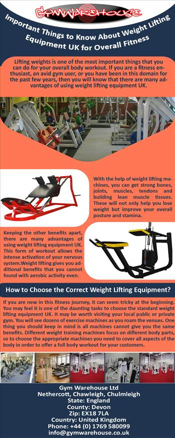 Important Things to Know About Weight Lifting Equipment UK for Overall Fitness.jpg by Gymwarehouse