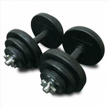 20KG REGULAR DUMBBELL SET by gymsportz