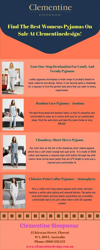 Find The Best Womens Pyjamas On Sale At Clementinedesign!.jpg by Clementine
