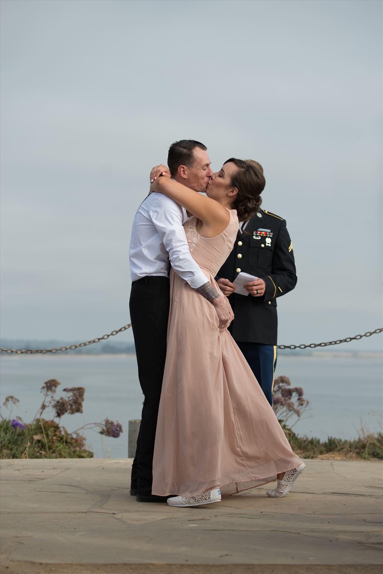 Courtney and Ruiz Shell Beach Wedding 07  by Sarah Williams