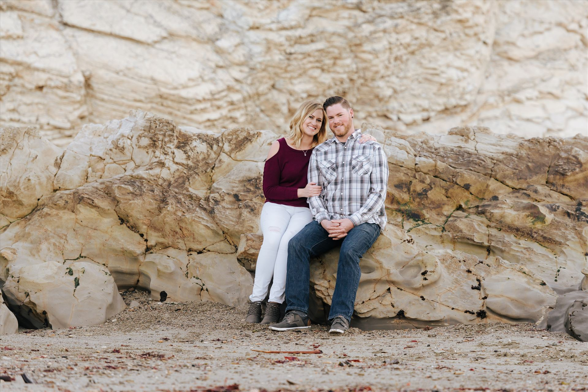 Carrie and Tim Engagement 70  by Sarah Williams