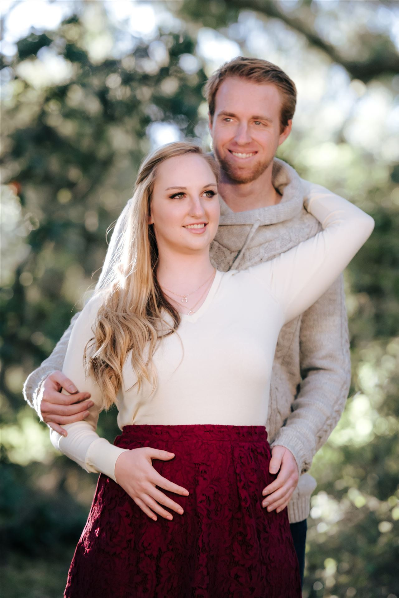 DSC_3303.JPG Mirror's Edge Photography captures CiCi and Rocky's Sunrise Engagement in Los Osos California at Los Osos Oaks Reserve. Gorgeous love by Sarah Williams
