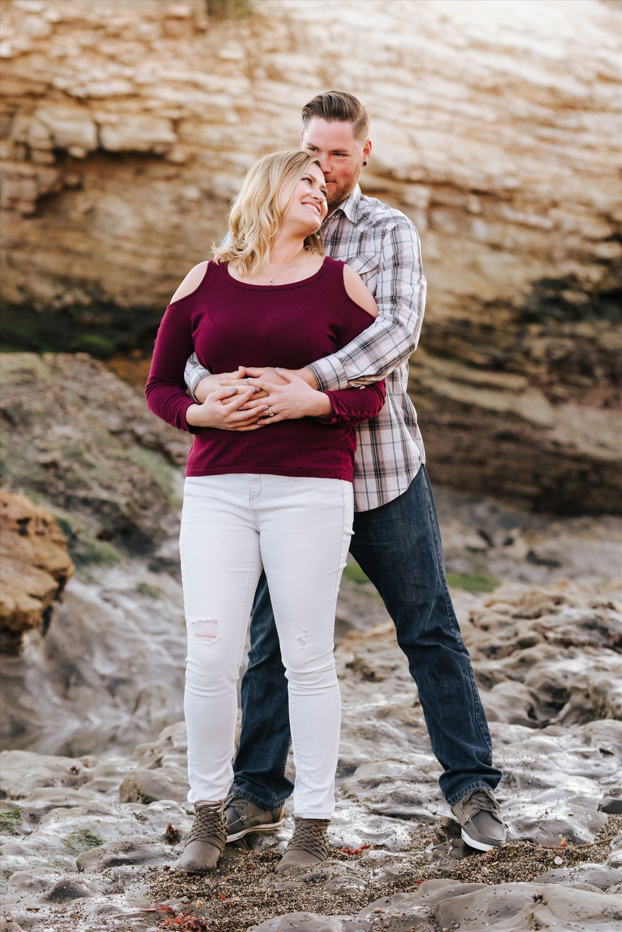 Carrie and Tim Engagement 45  by Sarah Williams