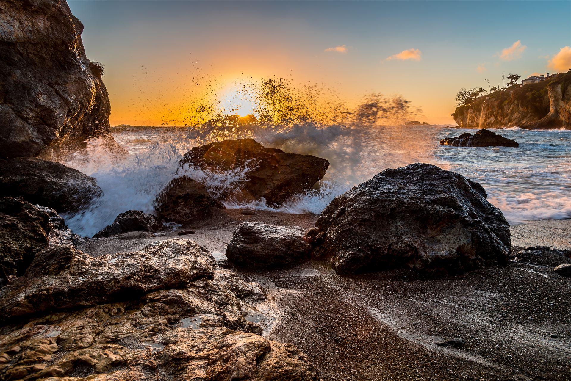Gazebo Cove Wave Splash.jpg  by Sarah Williams