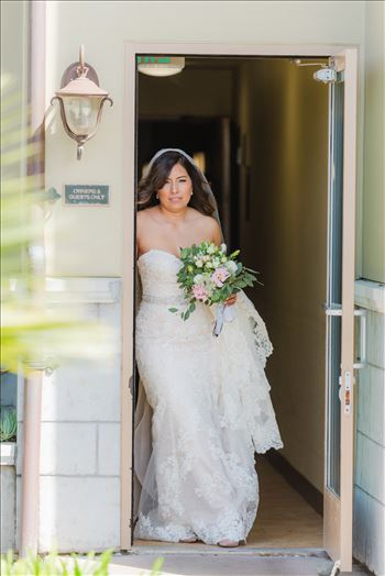 Candy and Christopher 05 - Wedding at Dolphin Bay Resort and Spa in Shell Beach, California by Sarah Williams of Mirror\u0027s Edge Photography, a San Luis Obispo County Wedding Photographer. Bride at Dolphin Bay Resort