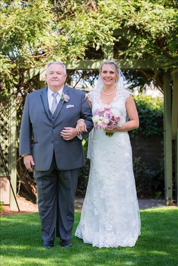 SP Gallery-8789.JPG - Cypress Ridge Pavilion Wedding Photography by Mirror\u0027s Edge Photography in Arroyo Grande California.  Bride and father down the asile