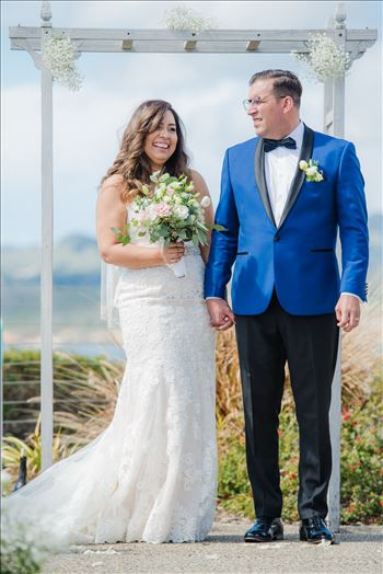 Candy and Christopher 21 - Wedding at Dolphin Bay Resort and Spa in Shell Beach, California by Sarah Williams of Mirror\u0027s Edge Photography, a San Luis Obispo County Wedding Photographer. Ceremony at Spyglass in Shell Beach