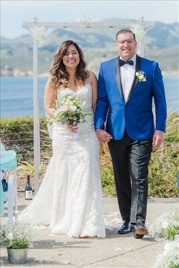 Candy and Christopher 19 - Wedding at Dolphin Bay Resort and Spa in Shell Beach, California by Sarah Williams of Mirror\u0027s Edge Photography, a San Luis Obispo County Wedding Photographer. Ceremony at Spyglass in Shell Beach, California
