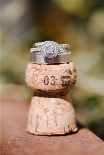 _Y9A6475.JPG - Tooth and Nail Winery elegant and formal wedding in Paso Robles California wine country by Mirror\u0027s Edge Photography, San Luis Obispo County Wedding Photographer. Wedding rings on wine cork