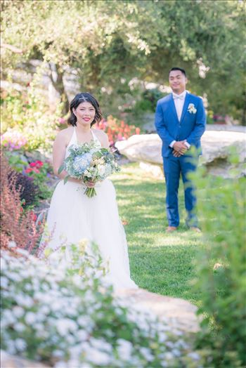 Maryanne and Michael at Madonna Inn 103 - Mirror\u0027s Edge Photography captures Maryanne and Michael\u0027s magical wedding in the Secret Garden at the iconic Madonna Inn in San Luis Obispo, California. Beautiful Bride in the garden