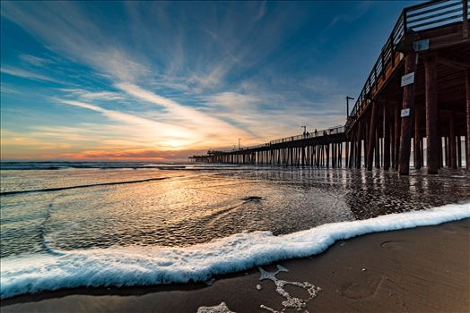 Pismo Beach Pier Wide 1 by Sarah Williams