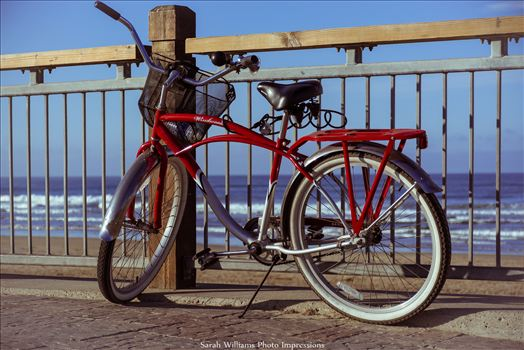 Red Bicycle Pismo.jpg by Sarah Williams