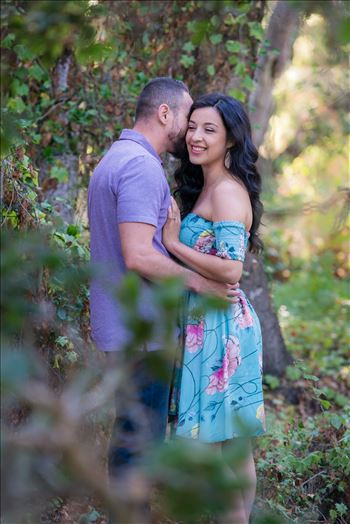 Cinthya and Carlos 02 - Los Osos State Park Reserve Engagement Photography and Wedding Photography by Mirror\u0027s Edge Photography.  Romantic couple