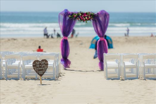 Jessica and Michael 36 - Sea Venture Resort and Spa Wedding Photography by Mirror\u0027s Edge Photography in Pismo Beach, California. Ceremony on the beach
