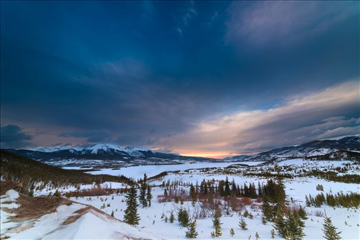 Breckenridge Sunset Magic by Sarah Williams