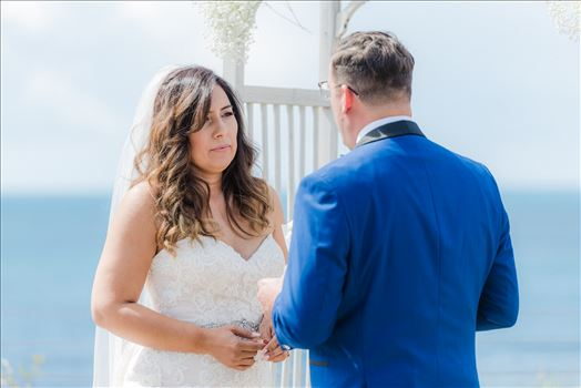Candy and Christopher 14 - Wedding at Dolphin Bay Resort and Spa in Shell Beach, California by Sarah Williams of Mirror\u0027s Edge Photography, a San Luis Obispo County Wedding Photographer. Vows at Spyglass