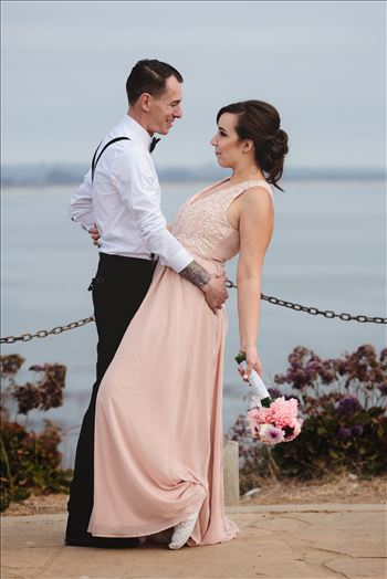 Courtney and Ruiz Shell Beach Wedding 14 -