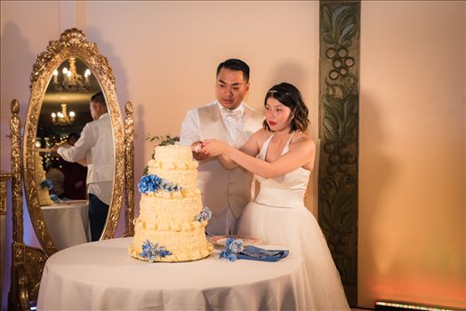 Maryanne and Michael at Madonna Inn 136 -