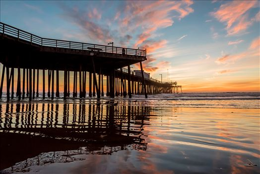 Fairytale Sunset Pismo Pier Reflection.jpg by Sarah Williams