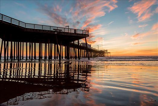 Fairytale Sunset Pismo Pier Reflection.jpg -