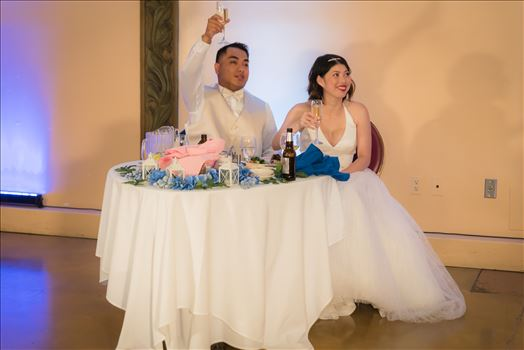 Maryanne and Michael at Madonna Inn 126 -