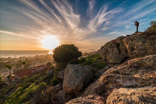 Above Pismo Beach Sunset -
