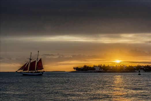 Galleon Sunset.jpg by Sarah Williams