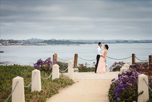 Courtney and Ruiz Shell Beach Wedding 01 -