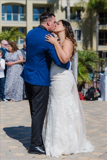 Candy and Christopher 29 - Wedding at Dolphin Bay Resort and Spa in Shell Beach, California by Sarah Williams of Mirror\u0027s Edge Photography, a San Luis Obispo County Wedding Photographer. First Dance at Dolphin Bay