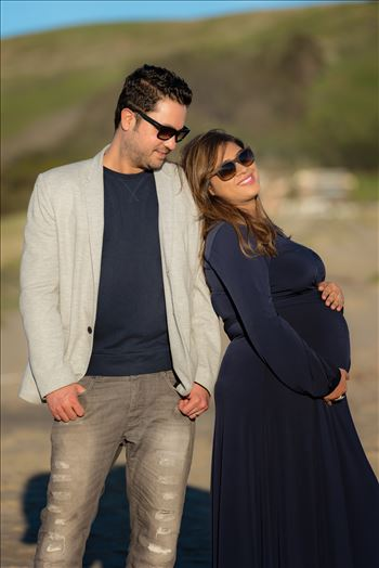 The Siddiki Maternity photography session in Morro Bay, California in San Luis Obispo County.