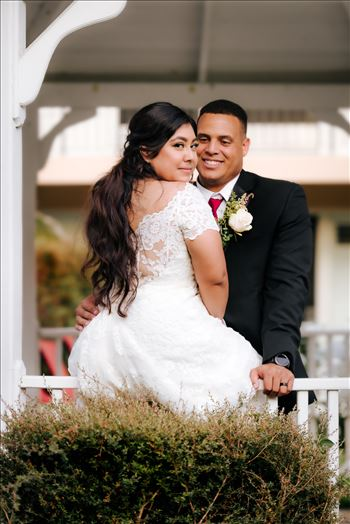 Sarah Williams of Mirror's Edge Photography, a San Luis Obispo Wedding and Engagement Photographer, captures the wedding day of Vance and Eva Griffin at the Palm Gardens Hotel in Thousand Oaks California.