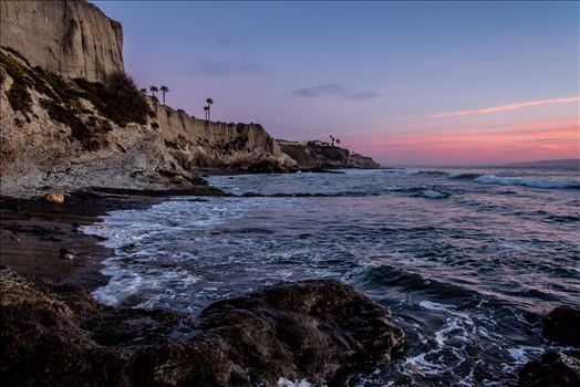Shell Beach Cliffs Pink Sunset.jpg by Sarah Williams