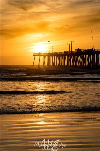 Pismo Beach Pier In Gold 03122016 (1 of 1).jpg by Sarah Williams