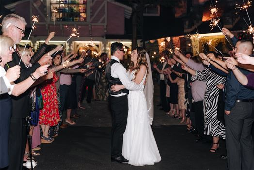 FW-8559.JPG - Mirror\u0027s Edge Photography, a San Luis Obispo Wedding and Engagement Photographer, captures Rashel and Brian\u0027s Wedding Day at the Madonna Inn in San Luis Obispo. Sparkler exit.