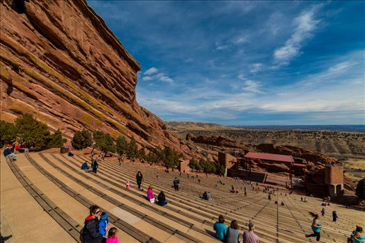 Red Rocks Amphitheater 2 by Sarah Williams