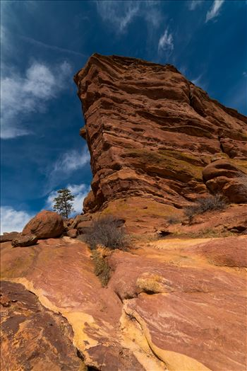 Blue Sky at Red Rocks Amphitheater by Sarah Williams