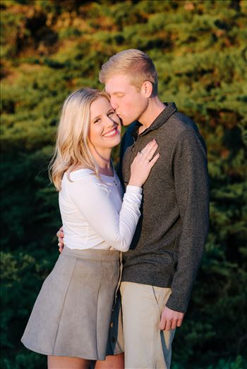 Sarah Williams of Mirror's Edge Photography, a San Luis Obispo and Santa Barbara County Wedding and Engagement Photographer, captures Joanna and Ryan's Sunset Engagement Session at Spooner's Cove in Montana de Oro in Los Osos, CA.