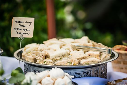 Renae and Brian 077 - Mirror\u0027s Edge Photography captures a high tea wedding at the Cypress Ridge Golf Club and Pavilion in Arroyo Grande, California.  Cypress Ridge Catering food