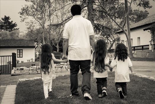 Kids Walking BW.jpg by Sarah Williams