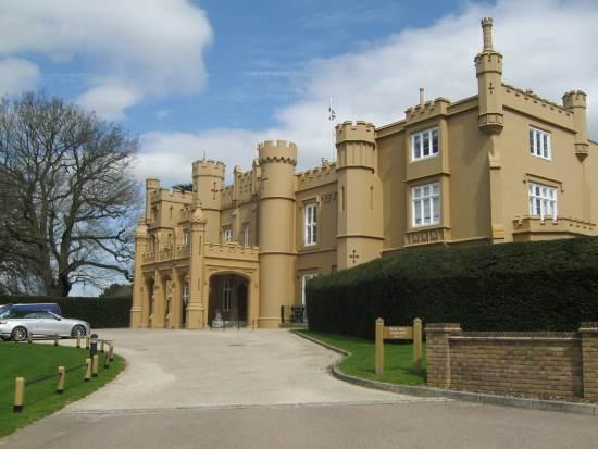 Vampire Lovers 2.jpg Roger Morton's house: Wall Hall Mansion, Aldenham, Watford, Hertfordshire - The Vampire Lovers (1970) by Vienna