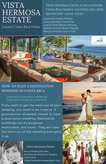 Vista Hermosa Estate is quickly becoming the premier venue for destination weddings in Manuel Antonio. Book your ideal Costa Rica wedding today! Come stay at Vista Hermosa Estate and experience Costa Rica's most exclusive tropical vacation property. Get m
