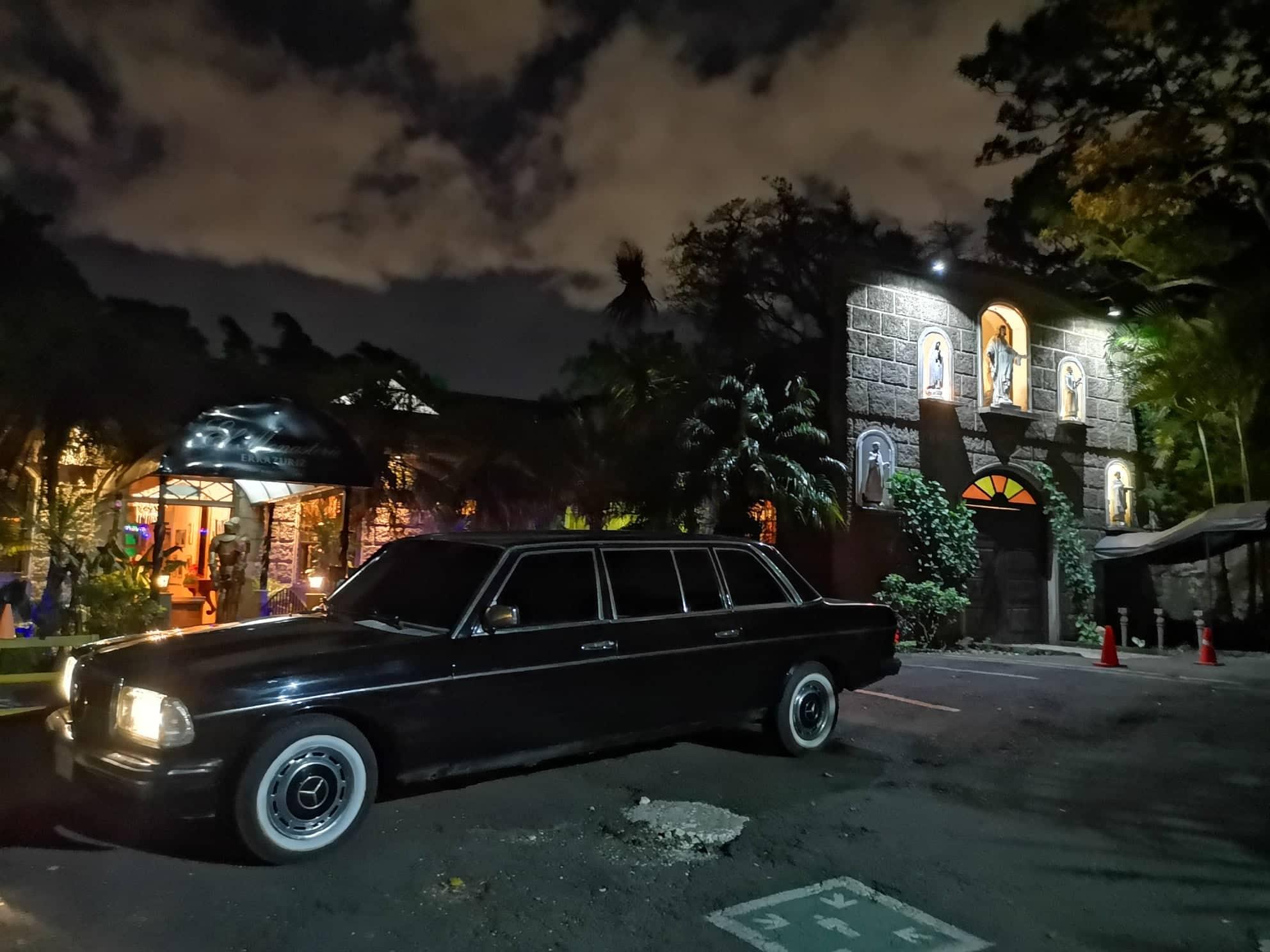 Le Monastere restaurant. San Rafael de Escazú MERCEDES LANG LIMO SERVICE.jpg  by richardblank
