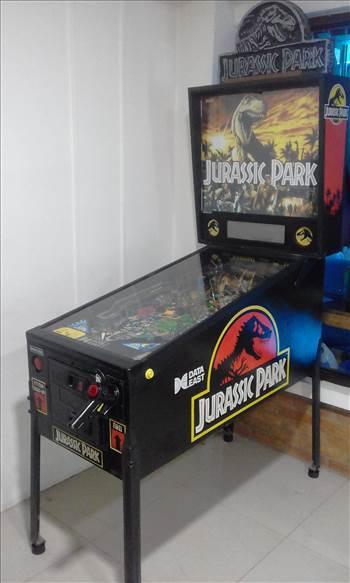 1993 DATA EAST JURASSIC PARK PINBALL MACHINE COSTA RICA.jpg by richardblank