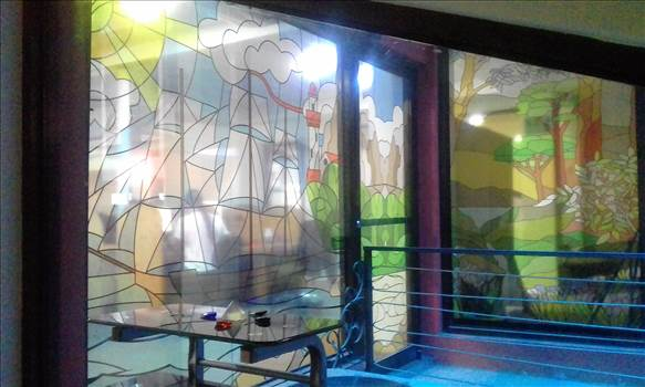 STAINED GLASS ART CALL CENTER COSTA RICA.jpg by richardblank