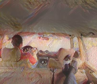 MERCEDES 1984 300D LANG LIMOUSINE NAMED DAISY.jpg by richardblank