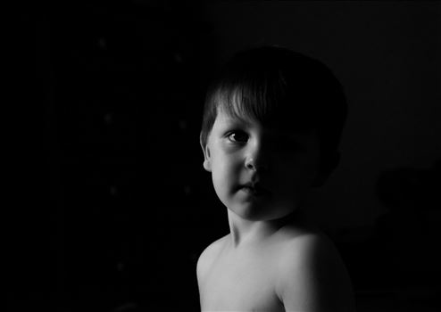 Big brother watching the little one (my oldest baby) by Holly Naughton Photography