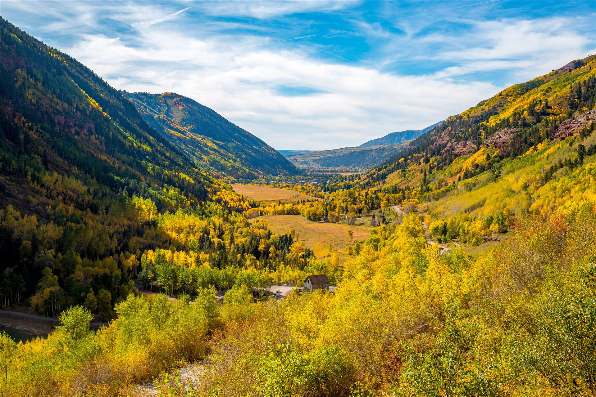 Ophir Pass 4 Ophir Pass, between Ouray and Silverton Colorado in the fall. by Scott Smith Photos