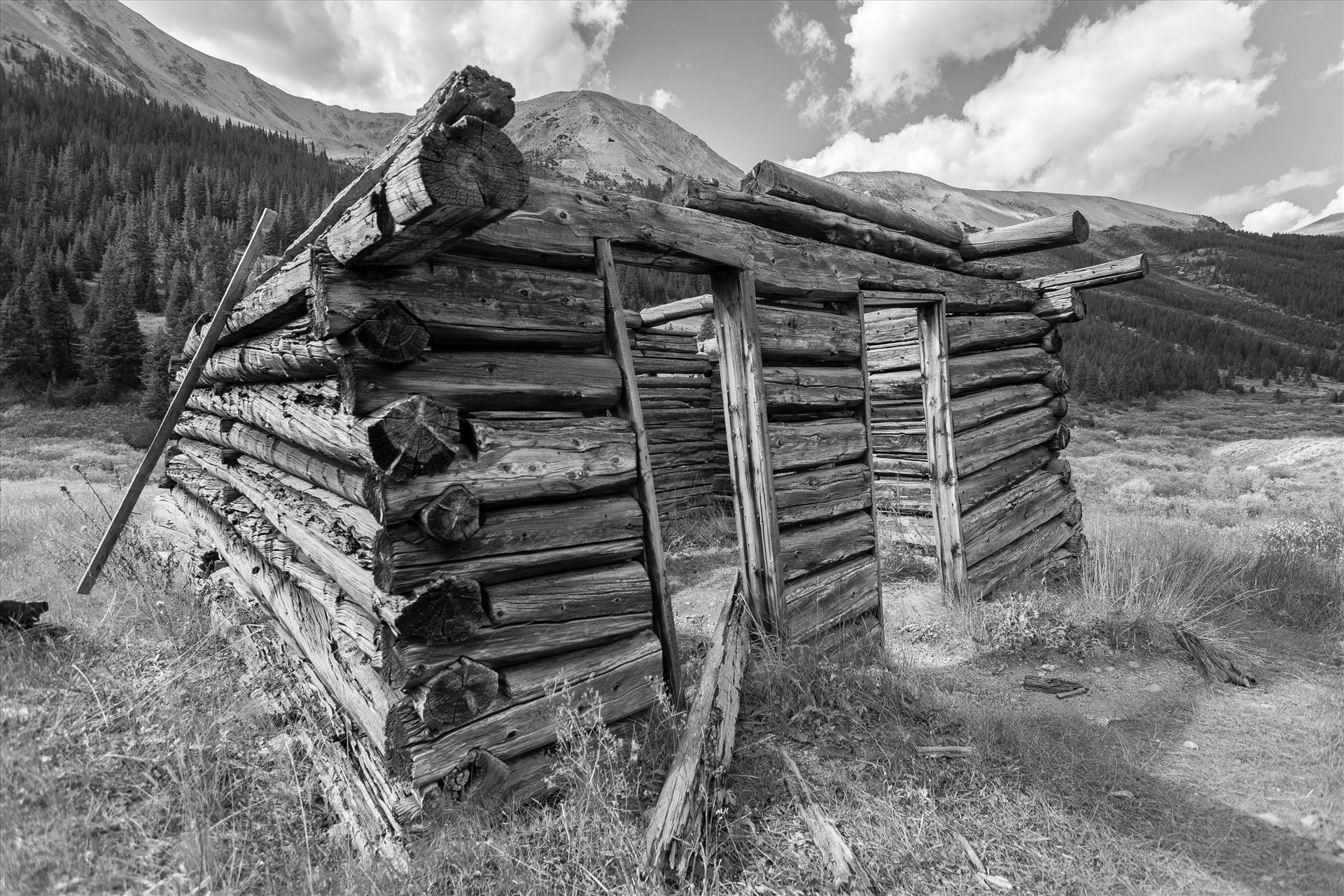 Ghosts of Independence Pass A collapsing cabin in the ghost town of Independence, Colorado. by Scott Smith Photos