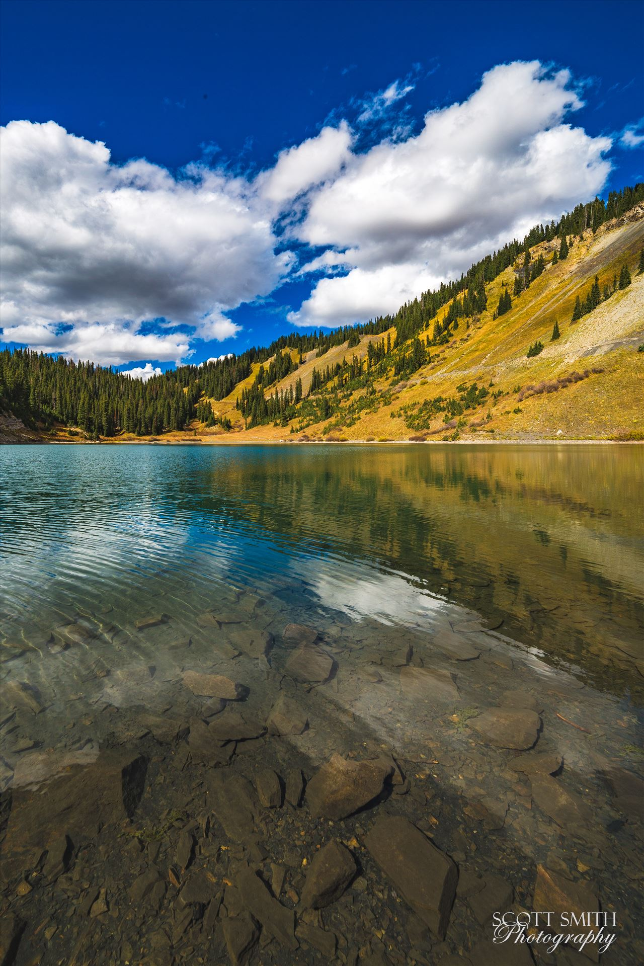 Emerald Lake A tiny, protected lake near the end of Gothic Road, north of Crested Butte, Colorado. by Scott Smith Photos