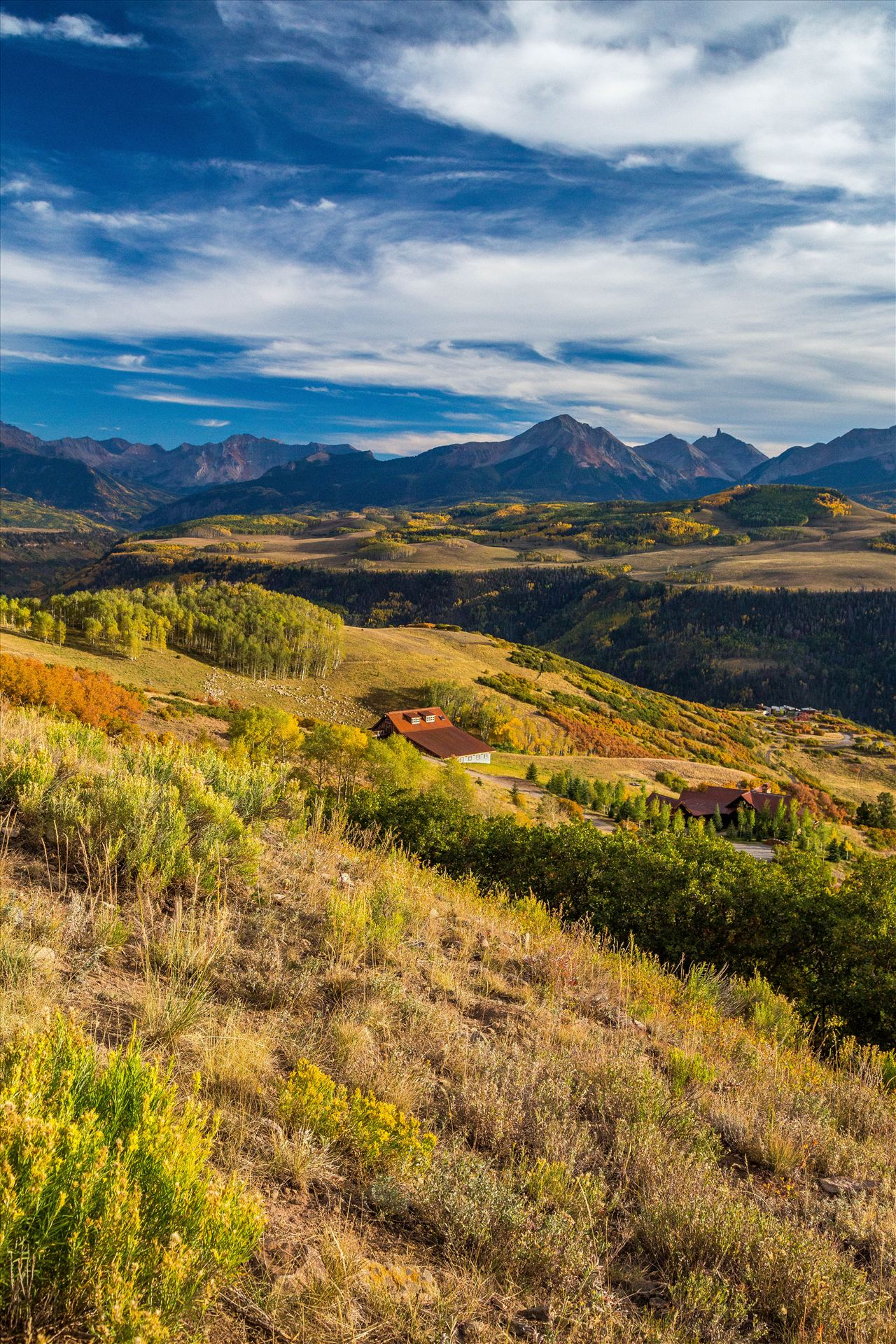 Last Dollar Road Ranch A ranch on Last Dollar Road, outside of Telluride, Colorado in the fall. by Scott Smith Photos